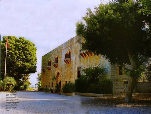 قصر بيت شهاب في حارة البطم الحدث-1